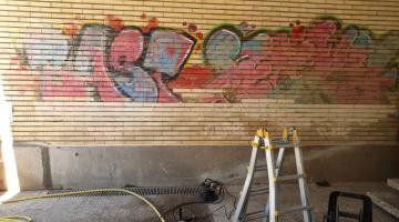 grafiti 10 de marzo del 2019